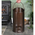 Modern Antique Bronze Simplistic Coal Bucket