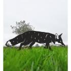 Black Fox Silhouette