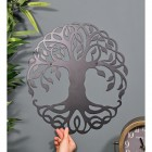 Tree of Life Wall Art to Scale