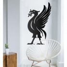 Liver Bird Wall Art in Situ in the Sitting Room