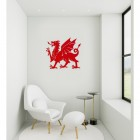 Welsh Dragon Wall Art in Situ in a Modern Sitting Room