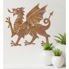 Welsh Dragon Wall Art in the Home