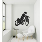 'Speedway' Wall Art in Situ on Wall