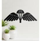 Military 'Parachute Wings' Badge Wall Art