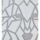 Close up of Wolf Head Geometric Wall Art