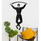 Harlequin Steel Wall Art in the Home