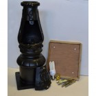 Victorian Lamp Post Black - Fitting Kit