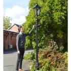 Scale image of 2.7 Victorian Lamp Post