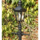 Victorian Lamp Post - Miniature 1.5m close up detail of Lantern