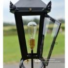 Victorian Pillar Light Lantern With Front Opening Door