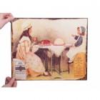 """Brown & Polson's"" Vintage Flour Sign"