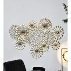 Golden Dandelion Wall Art