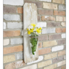 Wall Mounted Rustic Flower Holder