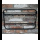 Wall Mounted Steel Wine Rack Without Wine Bottles