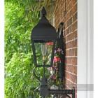 Westwell Black Simplistic Victorian Wall Lantern
