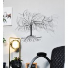 """Windswept Winter Tree"" Wall Art in a Modern Sitting Room"