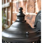 Close-up oft he Top finial on the Lantern