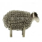 Wire Sheep Sculpture