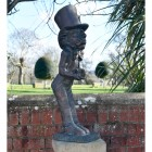 The Hatter Sculpture Finished in an Antique Bronze