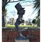 Wonderland Hatter Finished In Antique Bronze