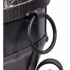 Close up of blacksmith handle