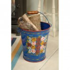 Hand Painted Log Bucket XL