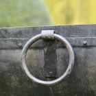 Close up of drop handles