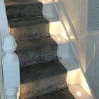Bright Chrome Stair Rods - Acorn Finial - 12mm