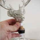 Close up of stag cork stopper