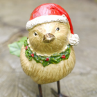 Front view of Christmas Robin