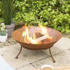 Rustic Kadai Bowl with Stand