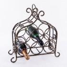 'Lille' Table Top Vintage Wine Rack