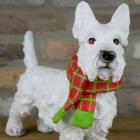 Christmas Scottie Dog