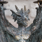 Close up of dragon detailing