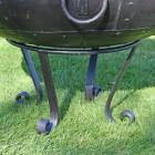 Kadai Bowl with scroll feet stand