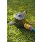 Bronze watering can sprinkler