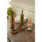 Spoon Rest and Wooden Spoon - Petits Plats Maison