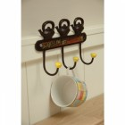 Teapot Design 3 Hook Rail
