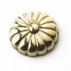 35MM Solid Brass Sunflower Motif