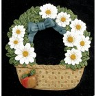 """Hollyrod House"" Flower basket Cast Iron Effect House Name Sign"