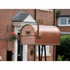 Copper and Brass American Style Letter Box