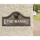 Jack Russell House Name Plaque