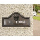 Labrador House Name Plaque