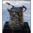 Buckby Watercan Traditional Style hand painted