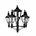 Quintuple Victorian Lamp Post Set