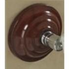 Heritage Rosewood Effect Ceramic Soapdish