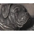 House Sign - Bronze Finish - Boxer Dog