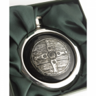Saxon Shield Hip Flask