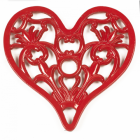 Trivet - Heavy Duty V3 Heart - Red