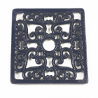 Trivet - Heavy duty V4 Square - Blue